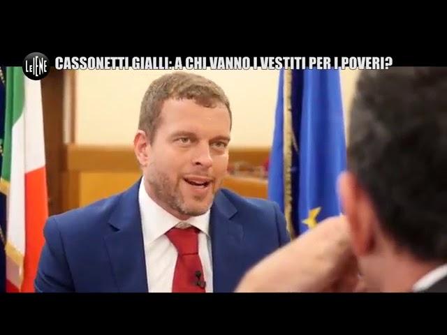 Intervista del presidente Stefano Vignaroli a Le Iene sui mercati illegali degli abiti usati