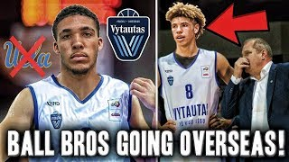 Lamelo Ball And Liangelo Ball Sign Professionally Overseas In Lithuania! | No More UCLA For Lamelo?