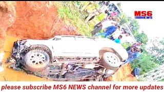 Road accident at Mulugu police station limits./ములుగు పోలీస్ స్టేషన్ పరిధిలో ఘోర రోడ్డు ప్రమాదం...