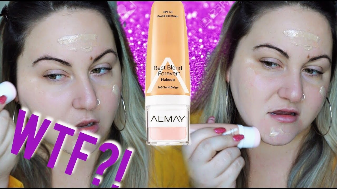 New almay best blend forever foundation review youtube jpg 1280x720 160 sand beige almay