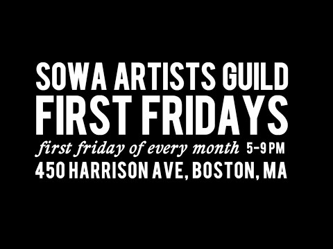 First Fridays, South End Boston