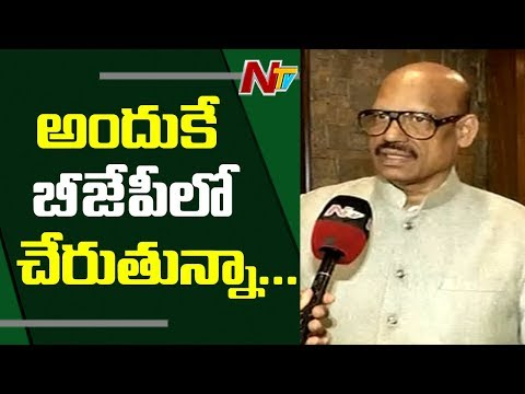 MP TG Venkatesh Face to Face over Joining BJP | TDP MPs Joining BJP | NTV