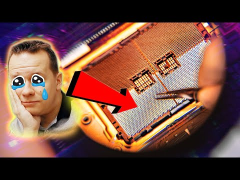 This Was A MASSIVE Mistake - I Broke A $1000 Motherboard 🤦‍♂️