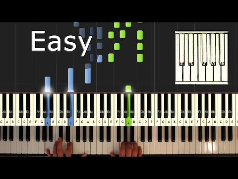 Ave Maria - Piano Tutorial Easy - Schubert - How To Play (Synthesia)