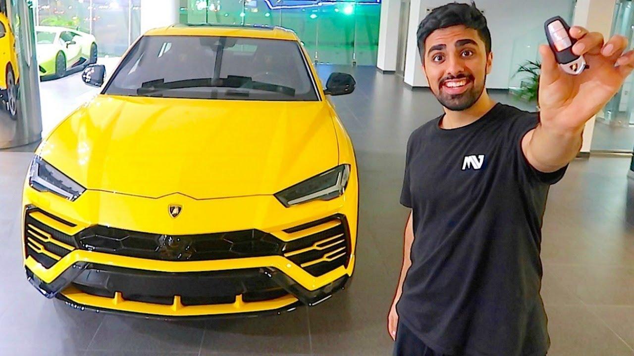 Delivery Of The New 4x4 Lamborghini Urus In Dubai Youtube