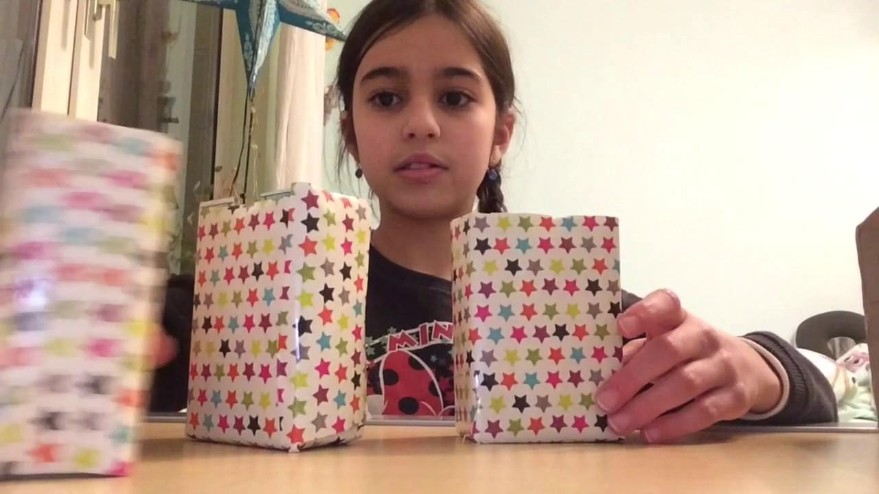 diy schreibtisch regal oder schminke box selber machen aus zwei sachen youtube. Black Bedroom Furniture Sets. Home Design Ideas