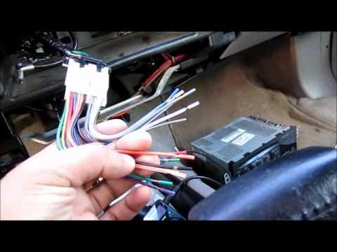 Impala SS Head Unit Install Part 2 - YouTube