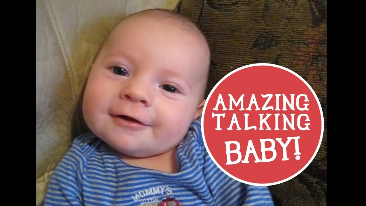 2 Month Old Baby Talking Says I Love You Youtube