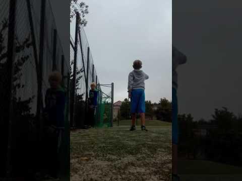 Crossbar Challenge med Dani