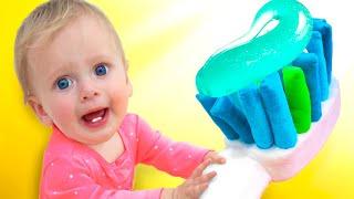 Brush your Teeth | Nursery Rhymes & Kids Songs