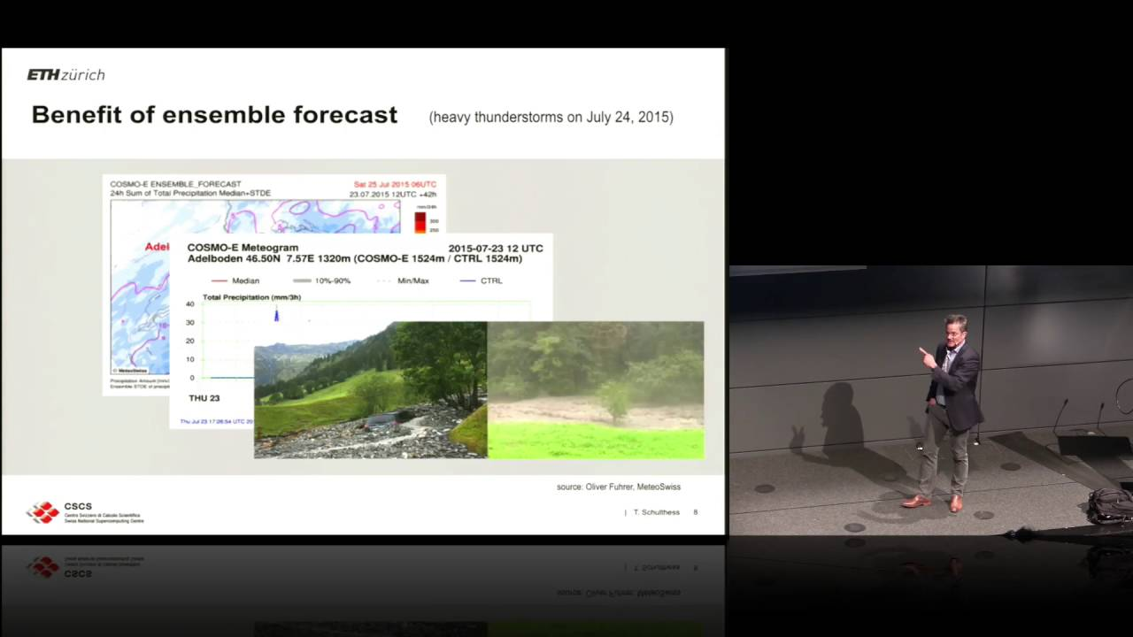 CSCS Roadmap and Upgrade of Piz Daint, Prof. Thomas Schulthess - YouTube