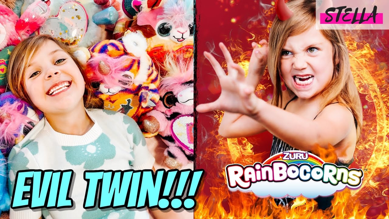 Evil Twin Makes My Family Disappear!!! (Featuring Rainbocorns)