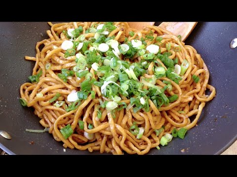 How To Cook Garlic Noodles-Asian Italian Food Recipes-Stri Frying