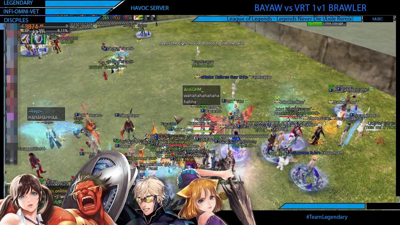 Bayaw vs VRT 1V1 BRAWLER, 5-0 VRT! - YouTube
