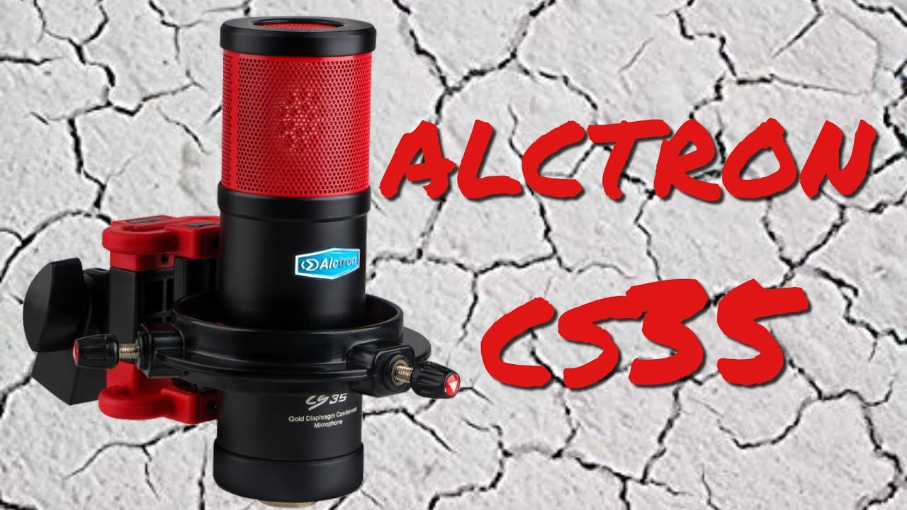 Alctron CS35 Condenser Microphone Bundle Test / Review - YouTube