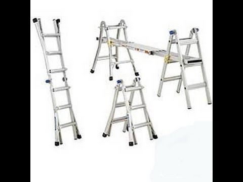 Werner Multi-Ladder How To Use - YouTube