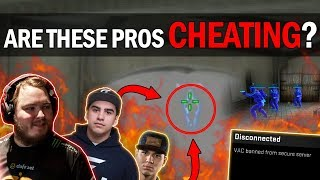 CS:GO - ARE THESE PROS CHEATING?! MOST SUSPICIOUS PRO PLAYS!! ft. flusha, coldzera, HEN1 & More!