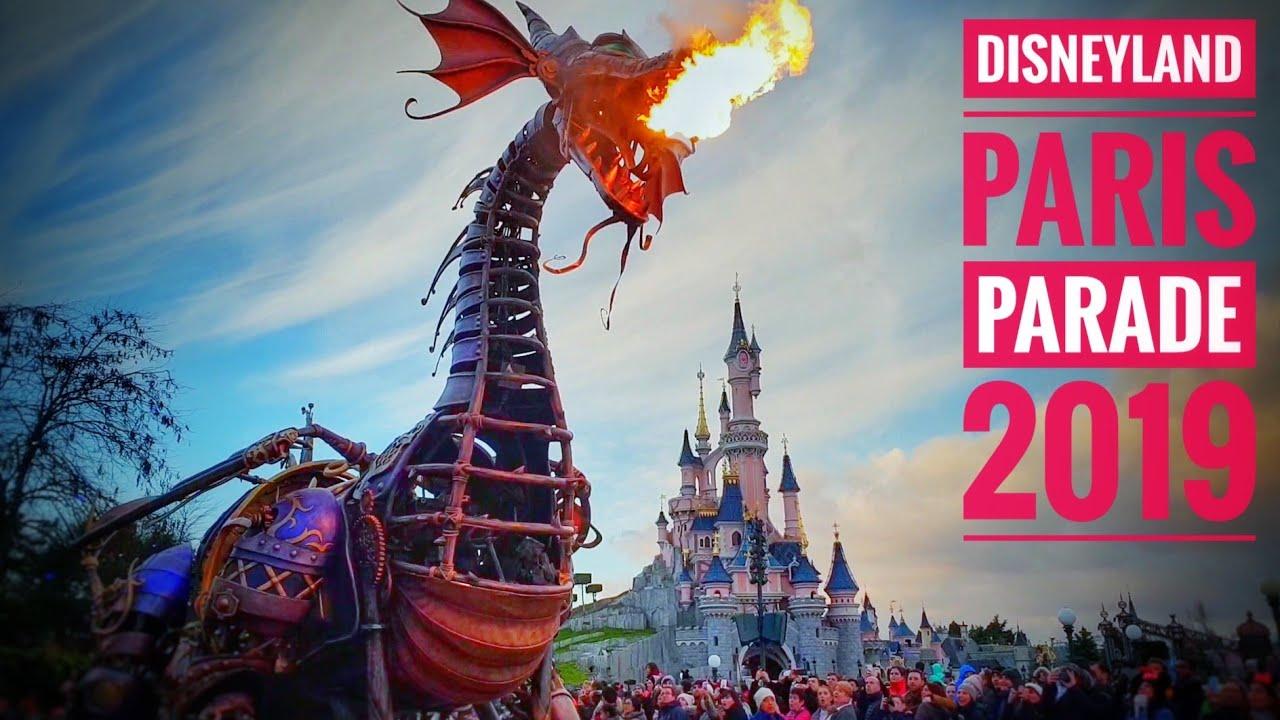 Disneyland Paris Parade 2019 Full Show Youtube