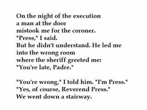 Execution Poems