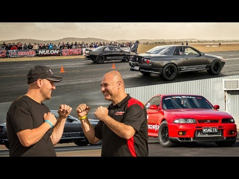 The World's Biggest GT-R Grudge Match - 2018 GT-R Challenge Pt 2