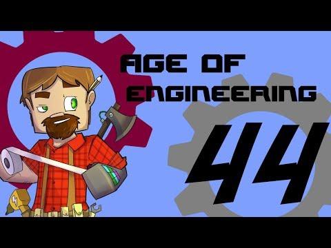 FTB Age of Engineering 1.10 Minecraft Episode 44: Advanced Gas Generator!  EU For Days!