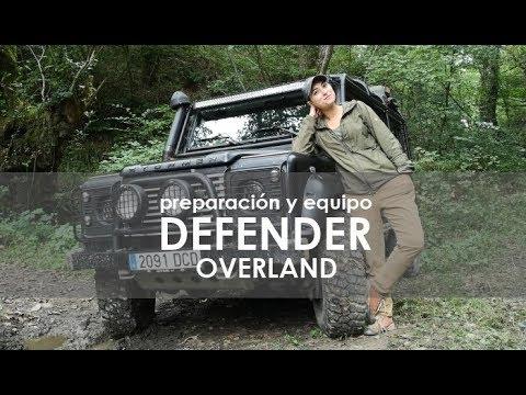 Consejos y Equipo para Viajar en 4x4 | Mejoras en Land Rover Defender Overland Offroad tuning