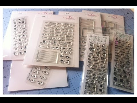 Planner stamps from Studio L2E and Sweet Stamp Shop