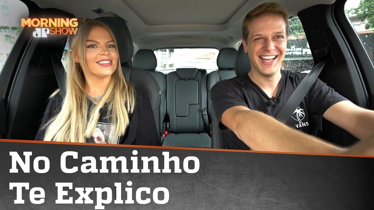 Luísa Sonza de carona com Fred Ring em quadro inspirado no Carpool Karaoke