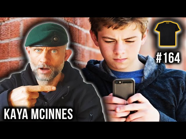 This Kid QUESTIONS My Service!  A Royal Marines Commando Replies | Kaya Mcinnes | Podcast #164