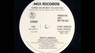 Brian & Brenda - Gonna do my best to love you.wmv