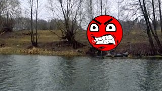 ДОРЫБАЧИЛСЯ НАРВАЛСЯ на РЫБАЛКЕ на ЗЛОГО ПОДПИСЧИКА БРАКОНЬЕРА Рыбалка весной на малой реке 2020