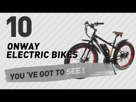 Onway Electric Bikes // New & Popular 2017