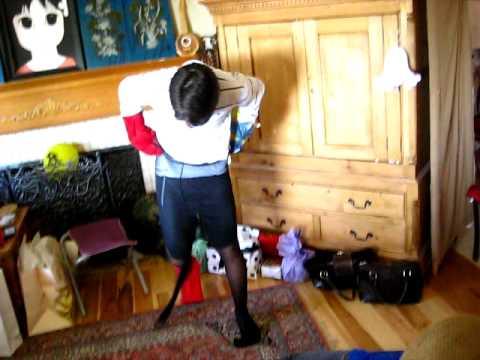 In pantyhose boys Petticoat Discipline