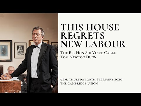 Tom Newton-Dunn | This House DOESN'T Regret New Labour | Cambridge Union (8/8)