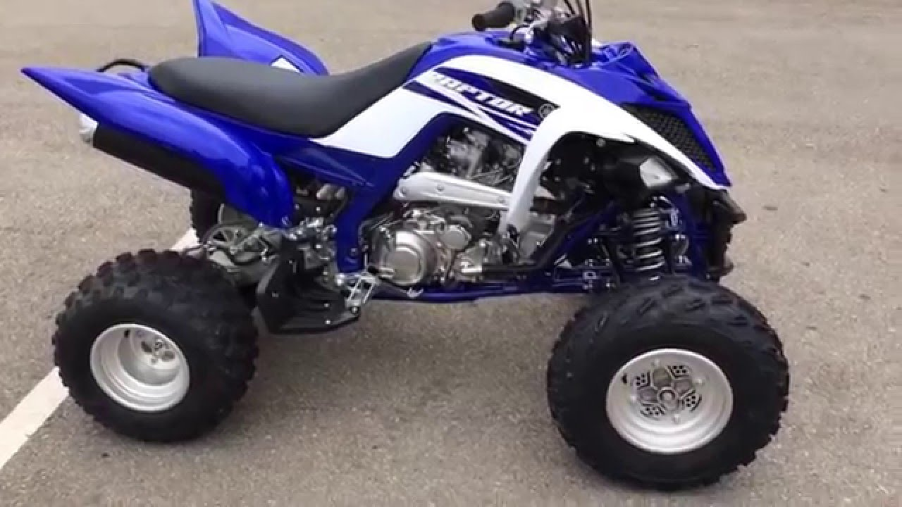 2015 raptor 700 in blue and white team colors yamaha of for Yamaha of knoxville