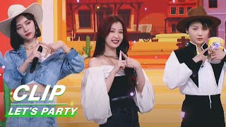 Clip: COOL GIRLS! All THE9 Members Are In Cowboy Dresscode!   Let's Party EP04   非日常派对   iQIYI