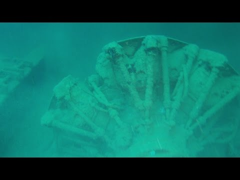 Palau 6/29/15 - Helmet Wreck; Chuyo Maru wreck; Hafa a Dai wreck; & Lighthouse Channel