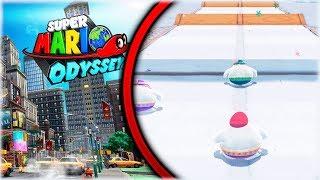¡¡ CARRERAS ÉPICAS EN LA NIEVE !! - Super Mario Odyssey - Gameplay Español#8 [WithZack]