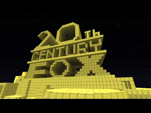 20th Century FOX intro in Minecraft