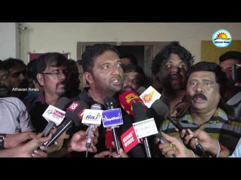 Tamil film producer council press meet : Actor  Vishal, Director R.K.Selvamani and Actor Prakashraj