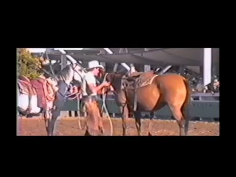 Flashback - Pat Parelli with problem horse in 1987