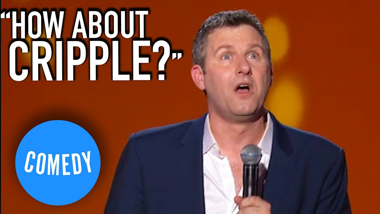 Adam Hills On Using Derogatory Words | HAPPYISM | Universal Comedy
