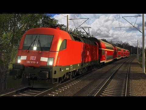 Traumberuf Lokführer Im Regionalexpress von Leipzig nach Bitterfeld Train Simulator 2017
