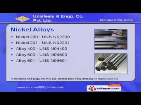 Inconel Pipes by Unisteels And Engg. Co. Pvt. Ltd. (Nickel Base Alloy Divison), Mumbai