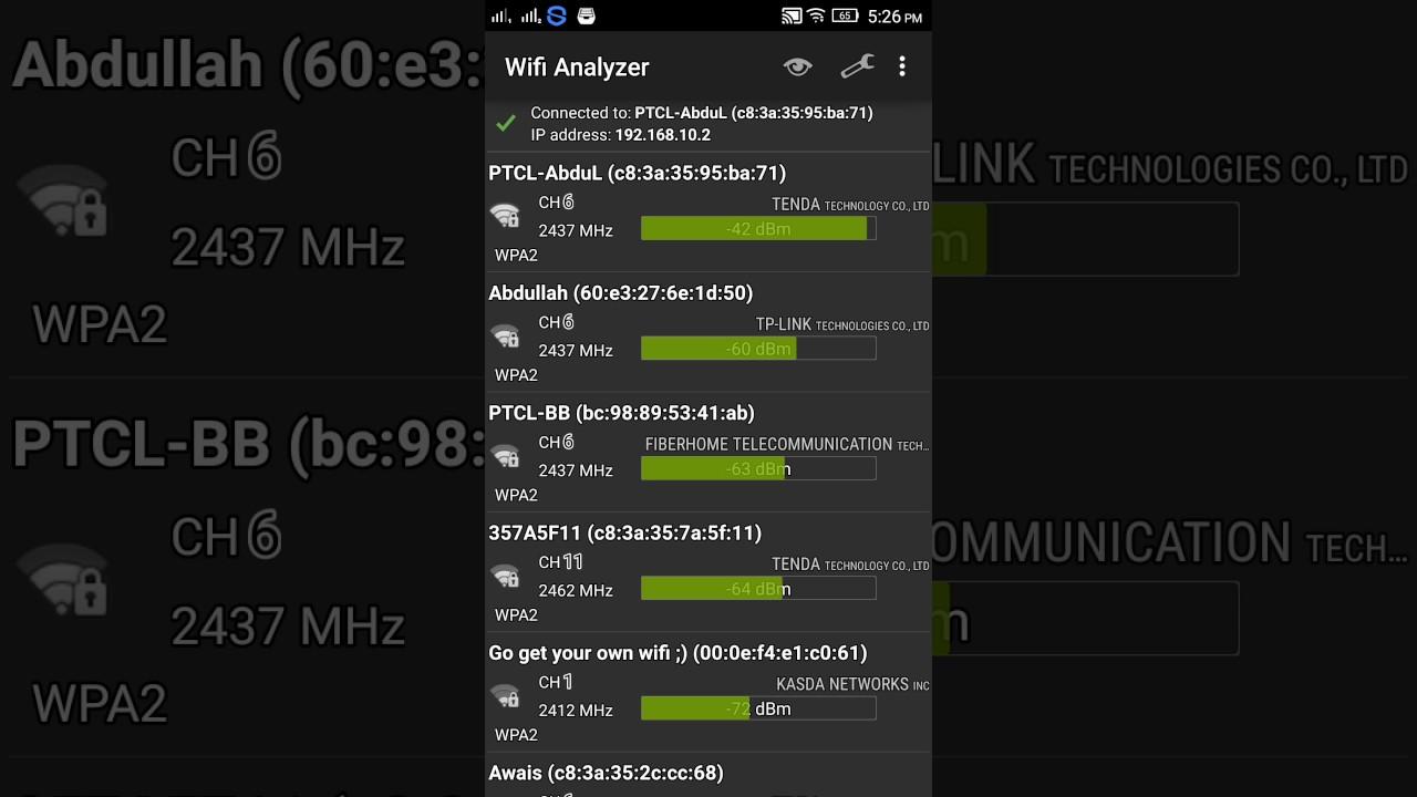 descargar wifi analyzer classic apk