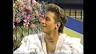 Ekaterina Gordeeva and Sergei Grinkov 1989 NHK Trophy SP Екатерина Гордеева и Сергей Гриньков