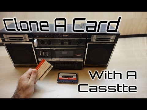 Clone Credit Card With A Cassette Tape