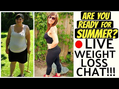 LIVE DIET & WEIGHT LOSS Q&A! ARE YOU READY FOR THE SUMMER? JUNE 20TH 2017