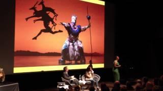Buyi Zama performs at Pixar