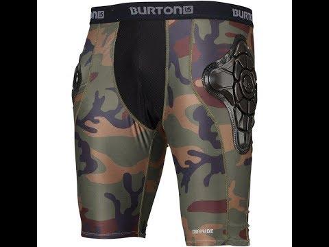 Обзор! ТЕСТ! Защитные шорты Burton Total Impact Short